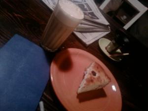 Au Lait & Blueberry Cheesecake