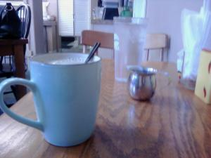 Coffee & Cream: Keepin' it simple at Rosemary's Cafe in Vancouver, WA.