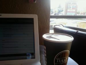 Tully's Coffee in Hazel Dell Square