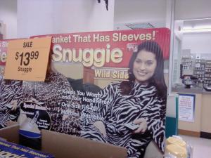 """""""Wild"""" Snuggie"""