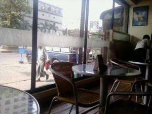 Café Aroma in Yangon, Myanmar