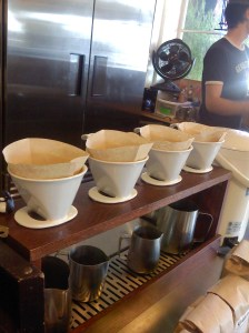 Drip coffee at Compass Coffee