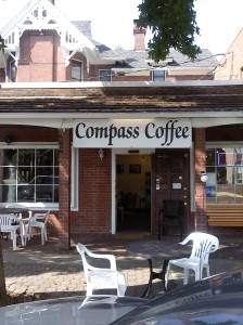 Compass Coffee Exterior