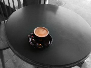 Picture of a coffee cup.