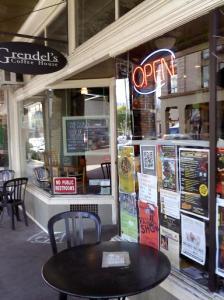 Exterior of Grendel's